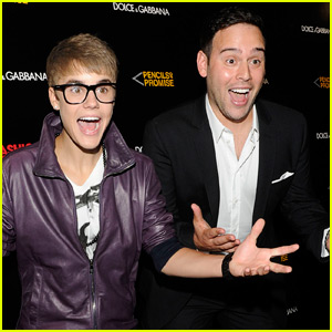 Scooter Braun Reacts to Justin Bieber & Ariana Grande's Past Scandals