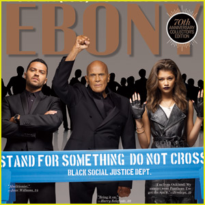 Zendaya is Fierce on the New Cover of 'Ebony'!