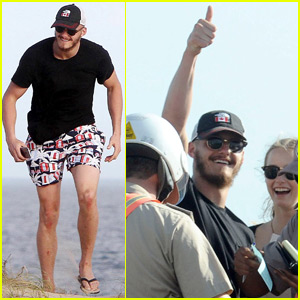 Alexander Ludwig Breaks the Law During Uruguay Vacation