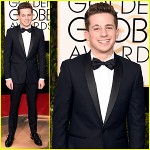Charlie Puth Keeps It Sharp For Golden Globes 2016