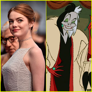 Emma Stone May Play Cruella de Vil in Upcoming Disney Re-imagining
