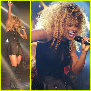 Fleur East Rings In 2016 With NYE Performance in London