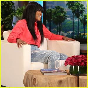 Keke Palmer Saw Leonardo DiCaprio & Kanye West 'Dabbing' at a Party