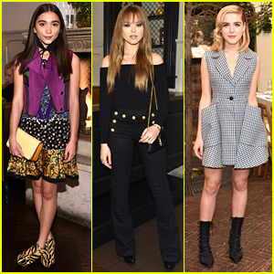 Rowan Blanchard Is an 'It Girl' with Kristina Bazan!