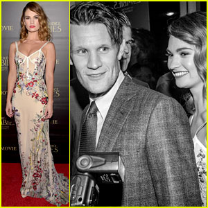Lily James Stuns at 'PPZ' Premiere with Matt Smith!