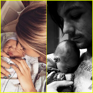 Louis Tomlinson's Son Freddie Reign - Debut Photos!