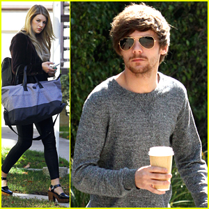 Louis Tomlinson Grabs Coffee & Briana Jungwirth Visits Family After Son Freddie's Birth