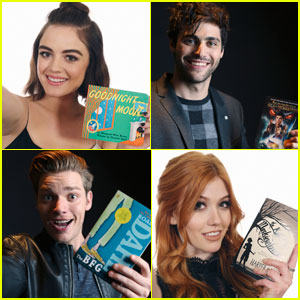 Katherine McNamara, Lucy Hale, & More Freeform Stars Share 'Shelfies' With Their Favorite Books! (Exclusive)