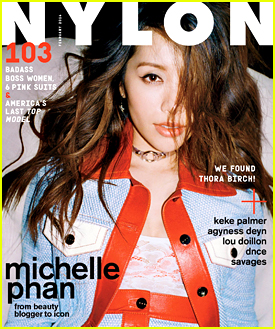 Beauty Guru Michelle Phan Covers 'Nylon' February 2016
