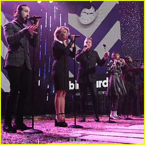 Pentatonix Perform 'Can't Sleep Love' At Dick Clark's Rockin' New Year's Eve 2016 - Watch Here!