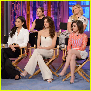 'Pretty Little Liars' Tease Big Time Jump on 'The View' - Watch Now!