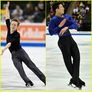 Figure Skaters Ross Miner & Nathan Chen Continue to Compete in U.S. Figure Skating Championship 2016