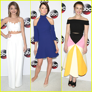 Sarah Hyland & Mallory Jansen Glam Up Disney ABC's Winter TCA Tour Party