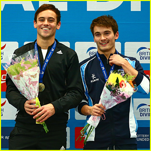Tom Daley Wins Double Gold at National Diving Cup Competition in England