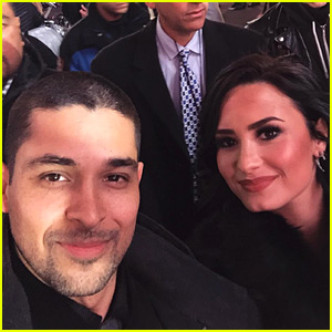 Demi Lovato Had Wilmer Valderrama By Her Side on New Year's Eve 2016!