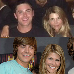 Zac Efron Met Up with Former 'Summerland' Co-Star Lori Loughlin!