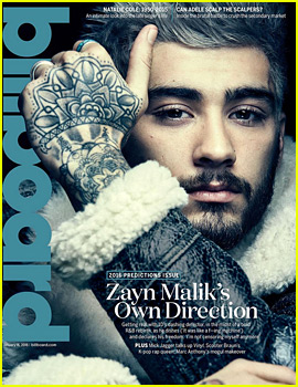 Zayn Malik Reveals If He's Talked to the 1D Guys, Describes His Perfect Girl in 'Billboard'