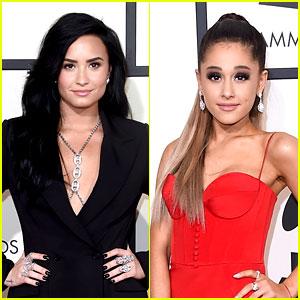 Demi Lovato Jokes That Ariana Grande Poops Glitter