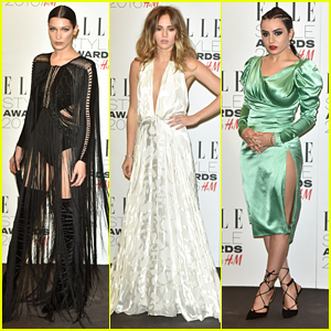 Bella Hadid Joins Suki Waterhouse at Elle Style Awards 2016