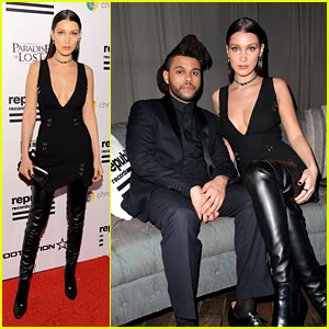 Bella Hadid Parties With The Weeknd After Grammys 2016