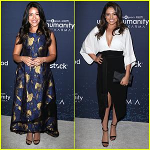Gina Rodriguez Honored At unite4:Humanity Gala