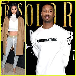 Chanel Iman Joins Michael B. Jordan at New Era Style Lounge