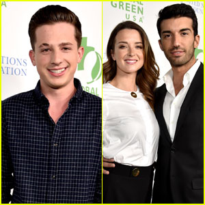 Charlie Puth Attends Pre-Oscars Bash With Justin Baldoni & More Stars!