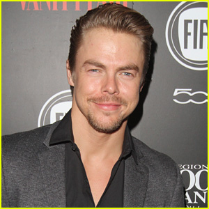 Derek Hough Sings 'Singin' in the Rain' Songs After Broadway Casting Announcement - Watch Now!