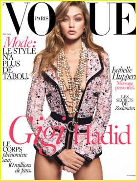 Gigi Hadid Stuns on 'Vogue Paris' March 2016 Cover