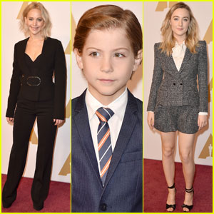 Jennifer Lawrence & More Stars Oscars 2016 Luncheon