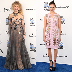 Juno Temple & Bel Powley Step Out For Independent Spirit Awards 2016