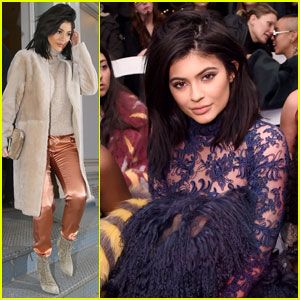 Kylie Jenner Takes NYFW By Storm!