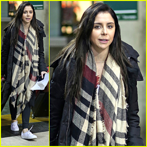 Makenzie Vega Arrives in Vancouver After Celebrating 22nd Birthday