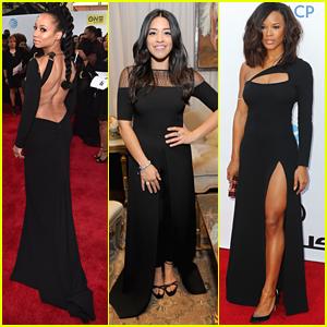 Monique Coleman, Serayah & Keke Palmer Go For Glam at NAACP Image Awards 2016