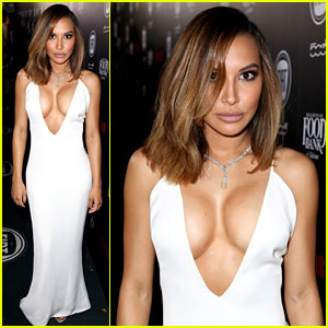 Naya Rivera Puts Her Assets on Display at Vanity Fair Party!