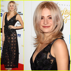 Pixie Lott Slays Her Look at the Whatsonstage Theatre Awards