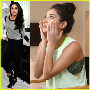 Shay Mitchell: What Goes On In The PLL Hair & Makeup Room, Stays In The Hair & Makeup Room