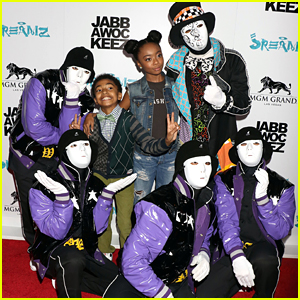 Skai Jackson & Jordyn Jones Hit Vegas For JabbaWockeeZ 'Jreamz'
