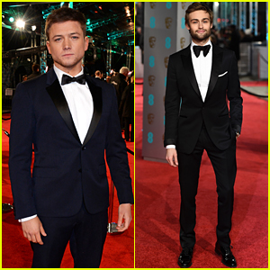 Taron Egerton Rocks His Finest Suit for BAFTAs 2016!