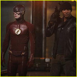 Arrow's Diggle & Lila Cross Over to 'The Flash' Tonight!