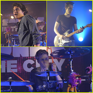 The Vamps Play Secret Gig While Connor Ball Had First Physical Therapy Session After Knee Surgery
