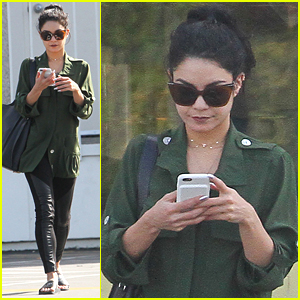 Vanessa Hudgens Runs Errands Around Town After 'Powerless' Casting News