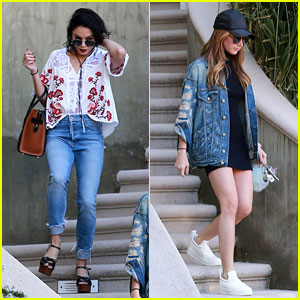 Vanessa Hudgens & Ashley Tisdale Have a '#BFFShoppingDay'