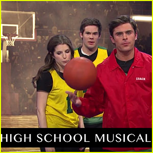 Zac Efron Tries to Include 'HSM' in History of Sports Movies - Watch Now!