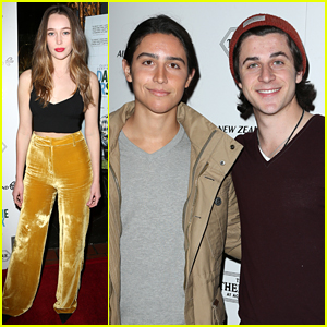 Alycia Debnam-Carey & Lorenzo Henrie Check out 'The Dark Horse' Premiere