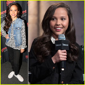 Breanna Yde Promotes 'School of Rock' In New York City with Tony Cavalero