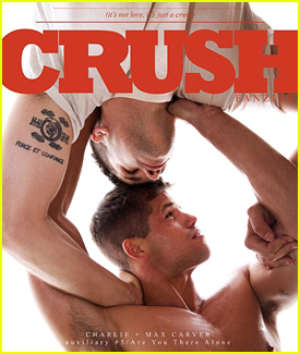 Charlie Carver Covers Crush Fanzine Collectors Issue With Twin Max