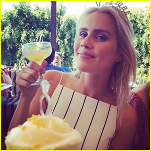 Claire Holt Celebrates Her Bridal Shower!
