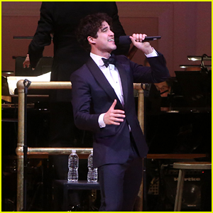 Darren Criss Sings His Heart Out For 'Broadway Today' Benefit Concert