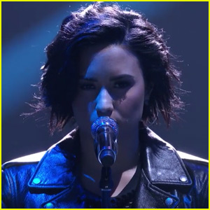 Demi Lovato Performs 'Confident' & 'Stone Cold' On 'American Idol'
